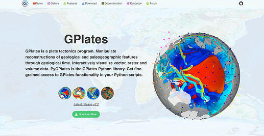 www.gplates.org.screenshot